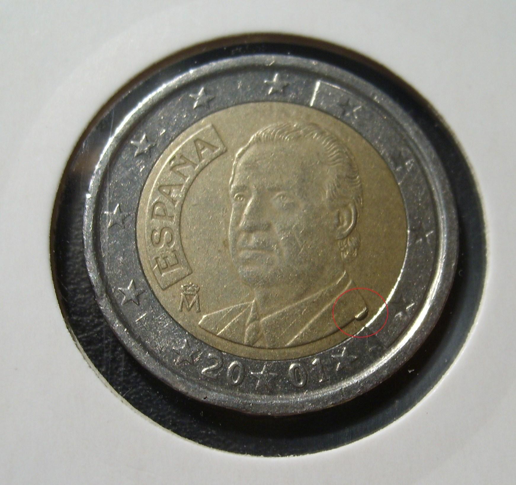 pièce euro espagne