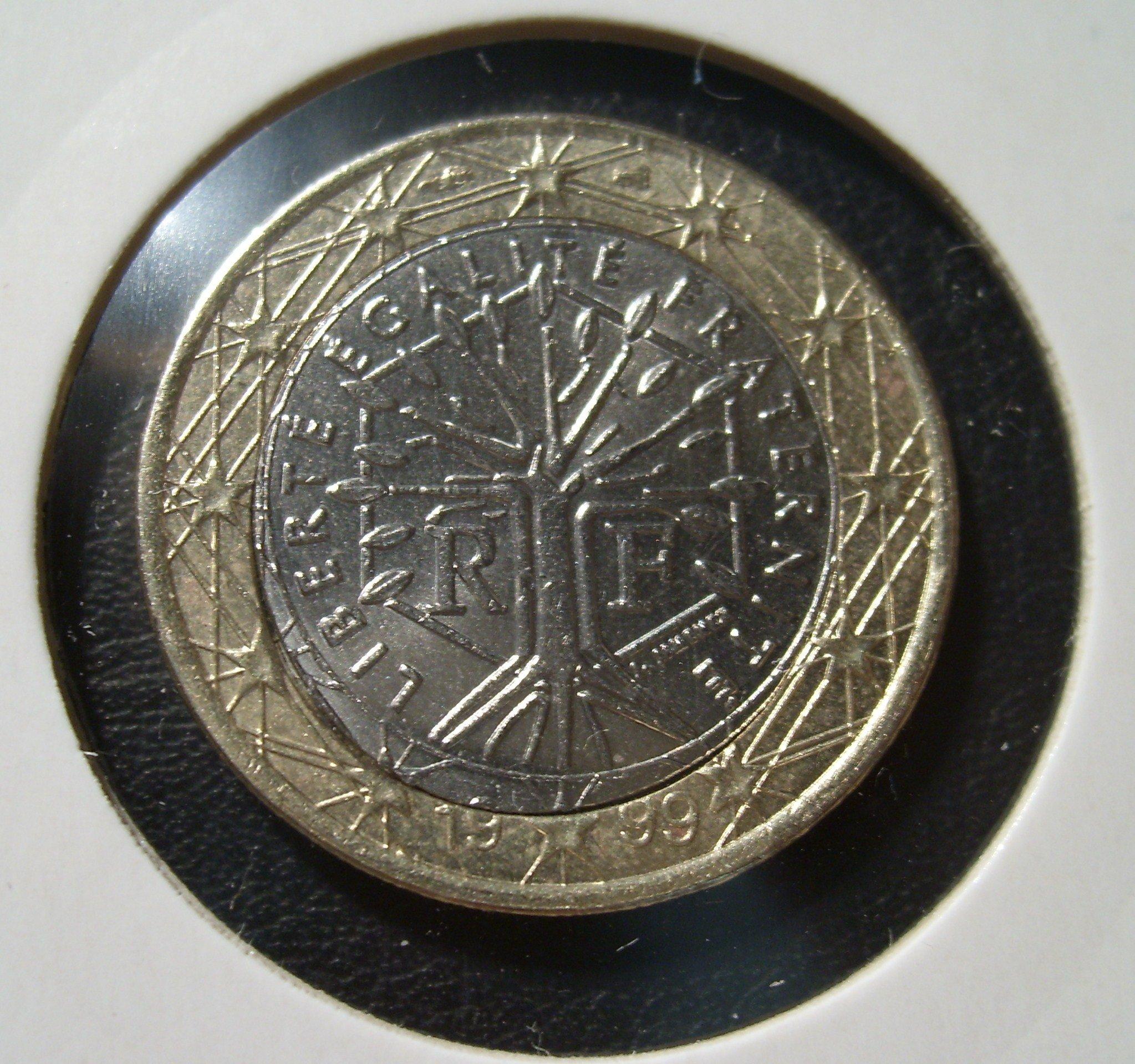 Piece monnaie euro faute - Sol en piece de monnaie ...